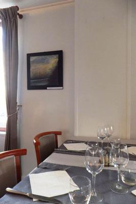Exposition Restaurant  La Ficara , Rueil-Malmaison, 2017. au profit de l'association Tamur Foundation Nepal -France