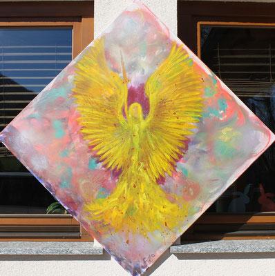 Engel der Befreiung   Größe 1x1m