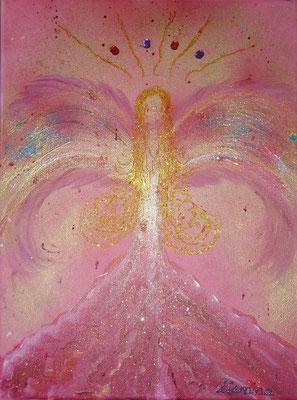 Engel der Liebe und des Lichtes   Größe 30x40cm