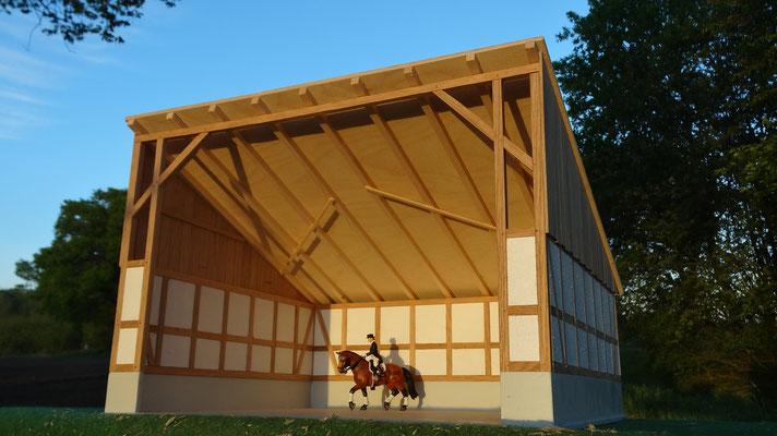 Platz für Pferd und Reiter- Im Maßstab von Bruder und Schleich