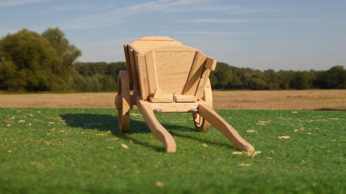 Neuheit für Schleich Holz Pferdekutsche