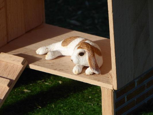 Schleich Kaninchen im Stall