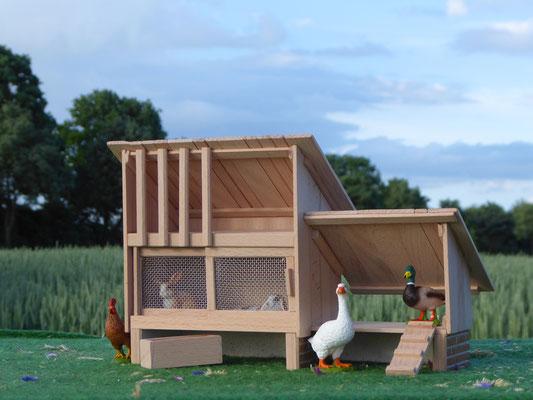 Kaninchen und Enten von Schleich