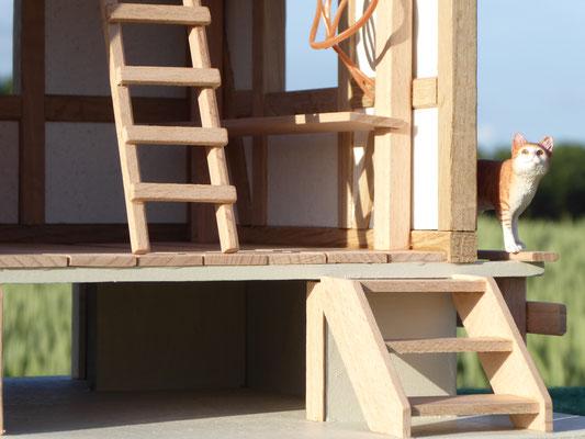 Sattelkammer für Schleich, zubehör aus Holz