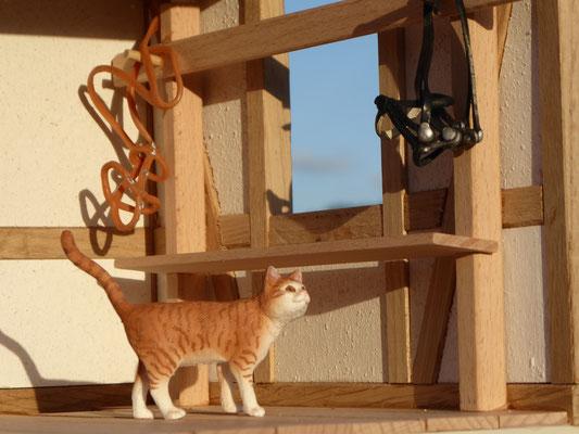 Schleich Katze Beuernhof