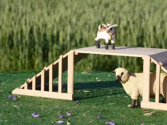 Ziegen Stall für Schleich