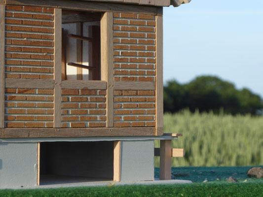 Holz Sattelkammer für Bullyland oder CollectA
