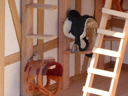 Sattelkammer für Schleich Sattel