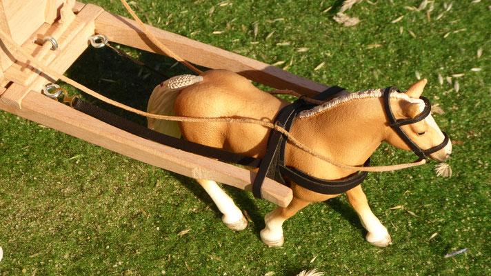 Schleich Pferd Leder Geschirr