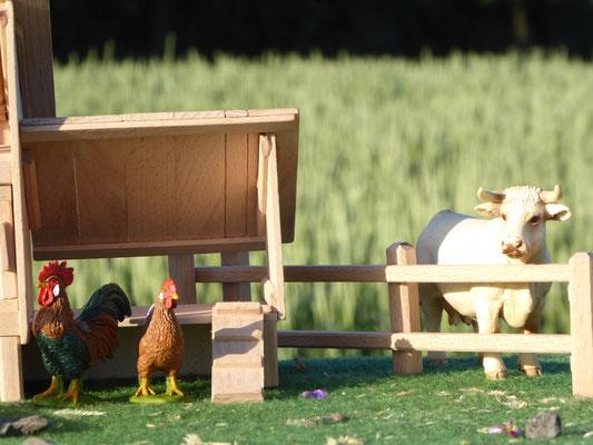 Bauernhof Zubehör aus Holz