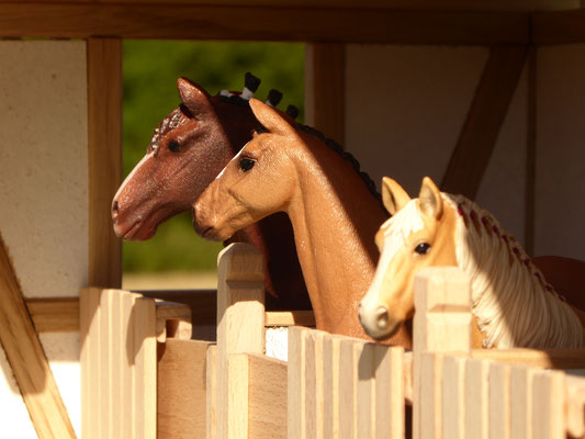 Box für Schleich Pferde