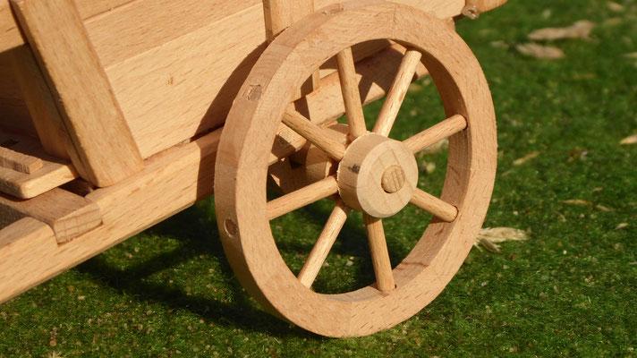 Pfedekutsche aus Holz für Schleich
