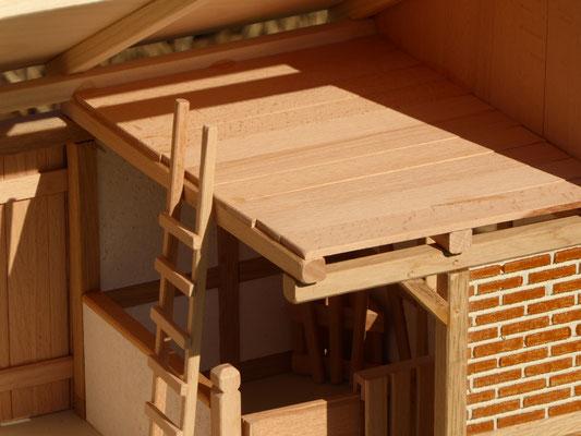 Dachboden der großen Remise für Schleich