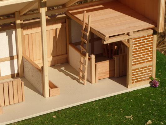 Remise für Schleich aus Holz