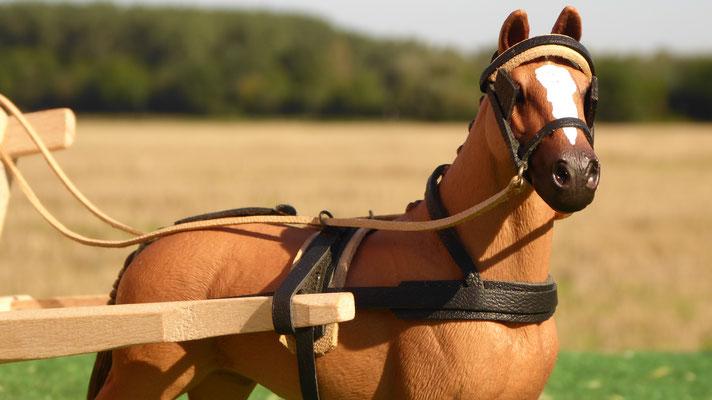 Schleich Pferd Geschirr