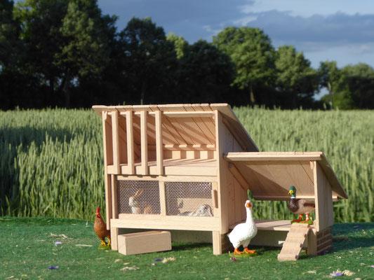 Schleich Enten und Stall