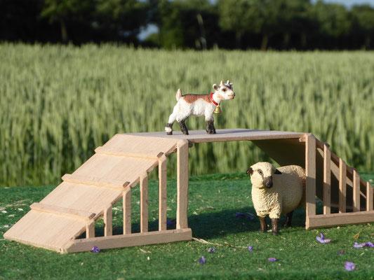Schleich Zubehör für Ziegen