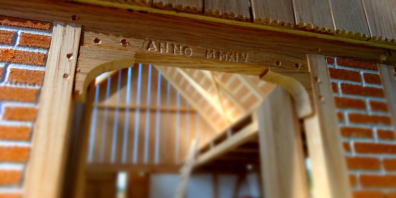 Detail des Schleich Stalls