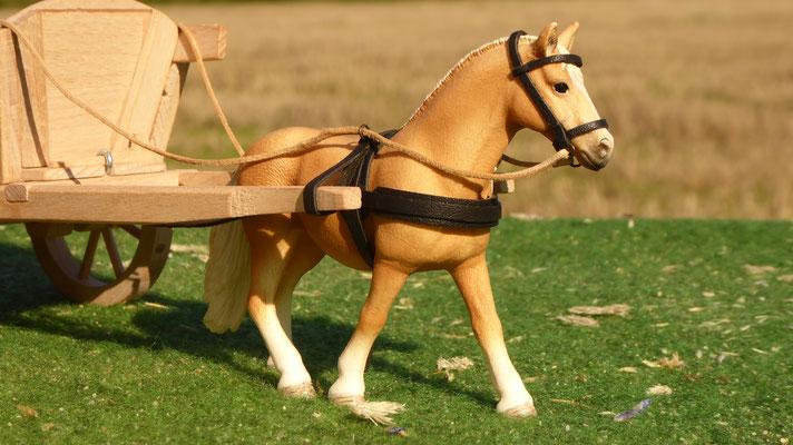 Geschirr für Schleich Pferd