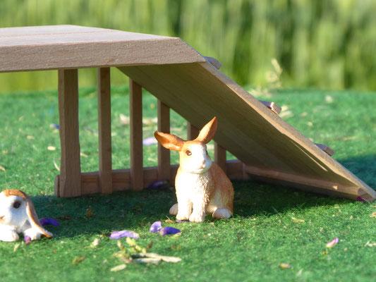 Kaninchen von Schleich auf dem Bauernhof