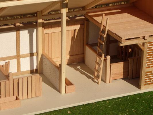 Holz Remise für Schleich