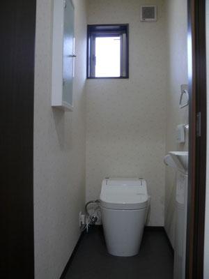 タンクレストイレで見た目にもスッキリお掃除楽チン