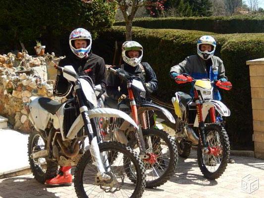motos trial- cross-cyclos-vélos-vtt-groupes-quads-pèche-Lot