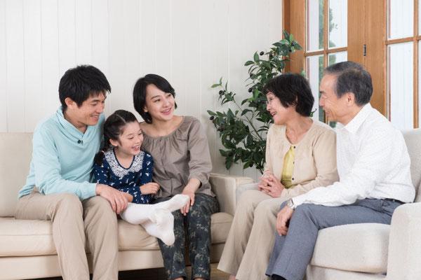 家族間のコミュニケーションのきっかけにも