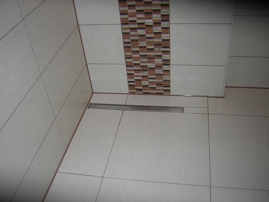 Bodengleicher Duschablauf