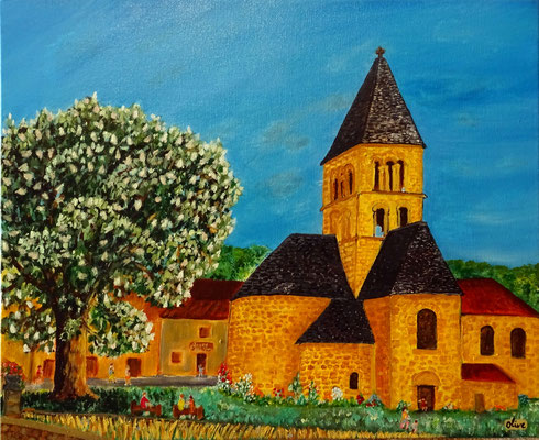 Le maronnier et l'église