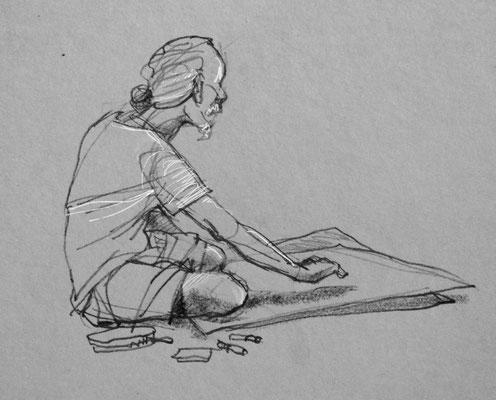 sketchportrait of Pranoto | 20 minutes