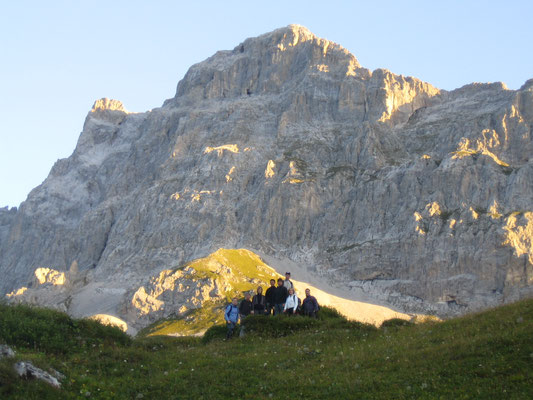 Klettersteig Sulzfluh : Klettersteig sulzfluh jungmannschaft klosters