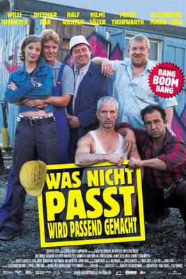 """Was Nicht Passt Wird Passend Gemacht """"Einer Geht Noch Rein"""" Lizenzierung der Werknutzung Produktionsfirma Becker& Häberle Filmproduktion"""