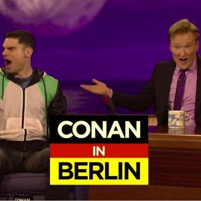 """Conan O´Brien US TV Show  """"Einer Geht Noch Rein"""" Klärung und Lizenzierung der Werknutzung Produktionsfirma Team Coco  Kunde: Helmut Högl Musikverlag/ München"""
