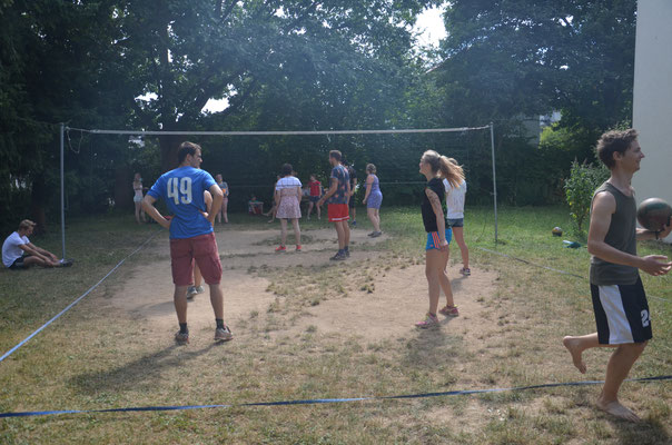 Volleyball Feld