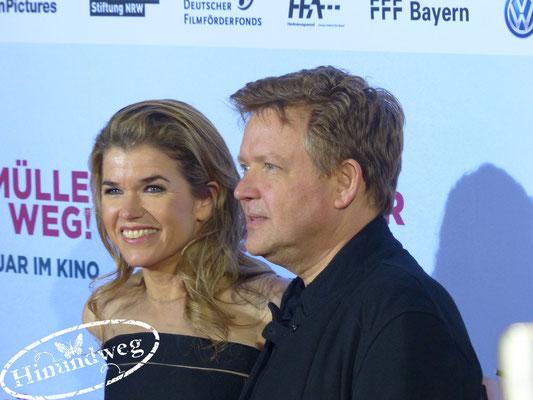Anke Engelke und Justus von Dohnányi