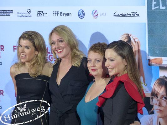 Anke Engelke, Alwara Höfels, Gabriela Maria Schmeide, Mina Tander