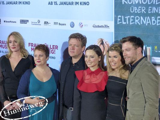 Alwara Höfels, Gabriela Maria Schmeide, Justus von Dohnányi, Mina Tander, Anke Engelke, Ken Duken