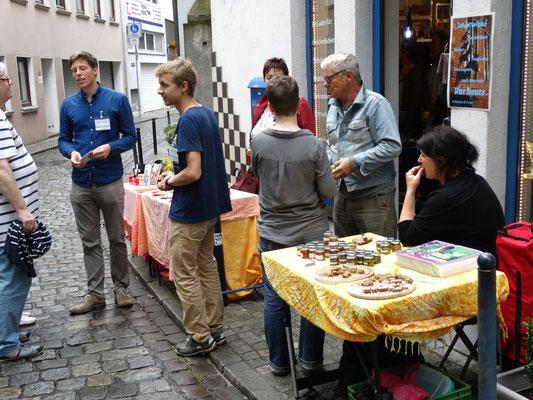"Schnoor- Viertel  -  ""myregalbrett"" - Sommerfest - Juli 2016"
