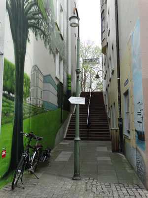 Schnoor- Viertel  -  April 2016