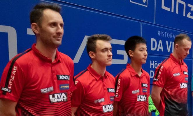 SPG Team 2019/2020 Pistej, Kaluzny, Liu, Grininger