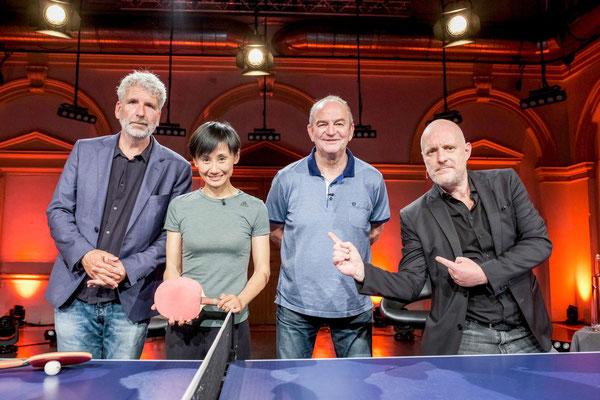 Foto ORF/Hans Leitner -  Stermann, Liu, Prohaska, Grissemann