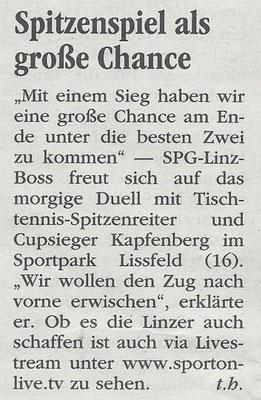 07.10. 2017 Volksblatt