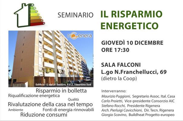 Seminario sulla riqualificazione edilizia e l'efficentamento energetico
