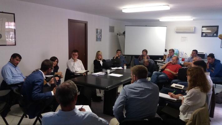 Sessione parallela sull'area pilota di Saragozza