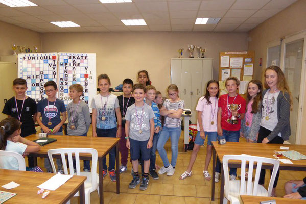 Podium des Ecoles