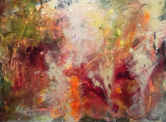 """The awakening"", Acryl-Mischtechnik auf Leinwand, 60 x80 cm"