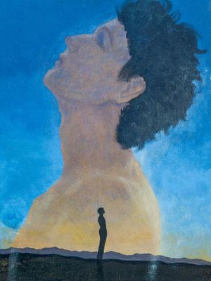 """Samson"", Acryl auf Leinen, 60x80 cm"