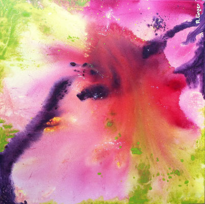 """Soft Touch"", Acryl auf Leinwand, 70 x 70 cm"