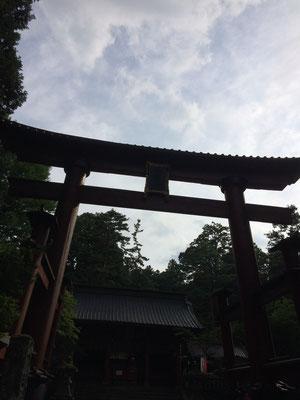 木造では日本一の鳥居